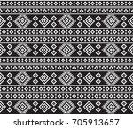 american indians tribal texture ... | Shutterstock .eps vector #705913657