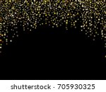 vector holiday background with... | Shutterstock .eps vector #705930325