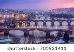 Prague And Bridges