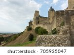 castle of the city of... | Shutterstock . vector #705935047
