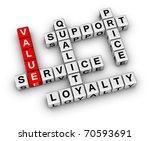 business organization basis crossword - stock photo