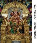 Small photo of Ganpati Idol at GSB Ganpati Mandal, Ram Mandir, Wadala