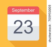 calendar  icon in flat design