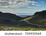 gran canaria. view of maspalomas   Shutterstock . vector #705955969