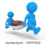 service man car   Shutterstock . vector #70597033