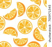 orange pattern | Shutterstock .eps vector #705971545