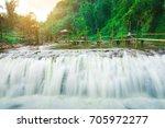 Spring Waterfall Tien Sa Falls  ...