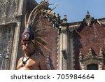 mexico  mexico city 21 january...   Shutterstock . vector #705984664