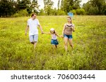 family playing together. | Shutterstock . vector #706003444
