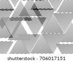 triangles unusual poster design ... | Shutterstock .eps vector #706017151