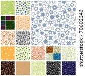 seamless star patterns. sparkle ... | Shutterstock .eps vector #70602343