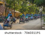 hoi an  vietnam   24th march... | Shutterstock . vector #706031191