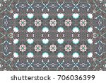 colorful mosaic pattern for... | Shutterstock . vector #706036399