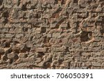old ted brick texture   Shutterstock . vector #706050391
