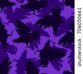 seamless pattern background... | Shutterstock .eps vector #706050661