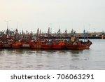 traditional mar del plata... | Shutterstock . vector #706063291