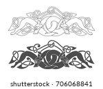 ancient celtic mythological... | Shutterstock .eps vector #706068841