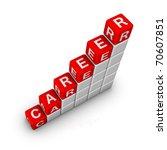 Ladder of Career - stock photo