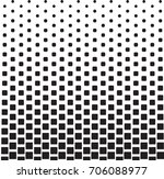 geometric black and white... | Shutterstock .eps vector #706088977