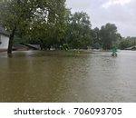 hurricane harvey 2017  flooding ... | Shutterstock . vector #706093705