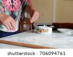 making pies | Shutterstock . vector #706094761