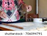 making pies | Shutterstock . vector #706094791