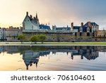 castle of the dukes of brittany ... | Shutterstock . vector #706104601