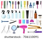 set collection of professional  ... | Shutterstock .eps vector #706110091