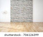 modern bright interiors. 3d...   Shutterstock . vector #706126399