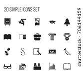 set of 20 editable teach icons. ...