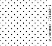 polka dot seamless pattern | Shutterstock .eps vector #706166941