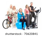 gym  fitness  healthy lifestyle.... | Shutterstock . vector #70620841