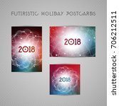 astrology calendar cover or... | Shutterstock .eps vector #706212511