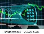 colour business finance chart ... | Shutterstock . vector #706215631