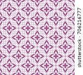 seamless ornamental pattern...   Shutterstock .eps vector #706216777