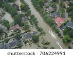 hurricane harvey impacts | Shutterstock . vector #706224991