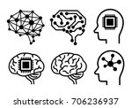 ai  artificial intelligence ... | Shutterstock .eps vector #706236937