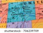 colorado state  usa | Shutterstock . vector #706239709