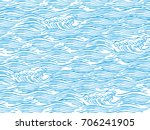 sea waves japanese style... | Shutterstock .eps vector #706241905