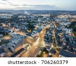 aerial view over the city of... | Shutterstock . vector #706260379