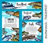 Seafood And Fish Food Posters...