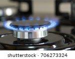 high power gas burner | Shutterstock . vector #706273324