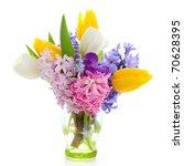 beautiful spring flowers ... | Shutterstock . vector #70628395