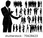 business people   Shutterstock .eps vector #70628623