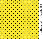 polka dot seamless pattern.... | Shutterstock .eps vector #706289401