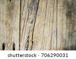 teak old and dirty with fungus...   Shutterstock . vector #706290031