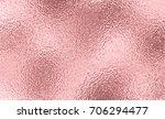rose gold foil texture...   Shutterstock .eps vector #706294477