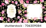 Stock vector spring syringa flowers background for the marriage card design blossom flower pattern for 706309084
