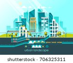 green energy and eco friendly... | Shutterstock .eps vector #706325311