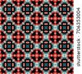 geometric texture. boho chic...   Shutterstock .eps vector #706353004